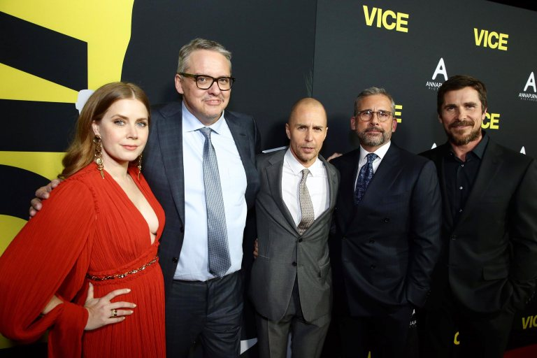 See Christian Bale, Amy Adams, and the stars of <em>Vice</em> at the films premiere 5