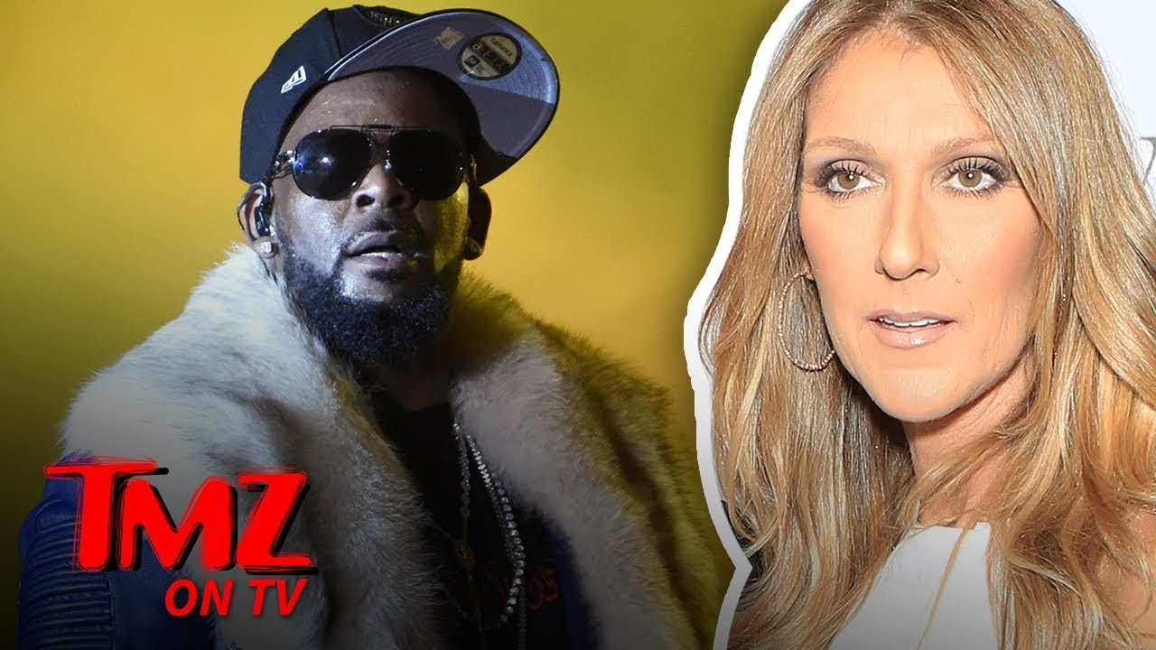 Celine Dion Pulls Song 'I'm Your Angel' with R. Kelly from Streaming Services | TMZ TV 3