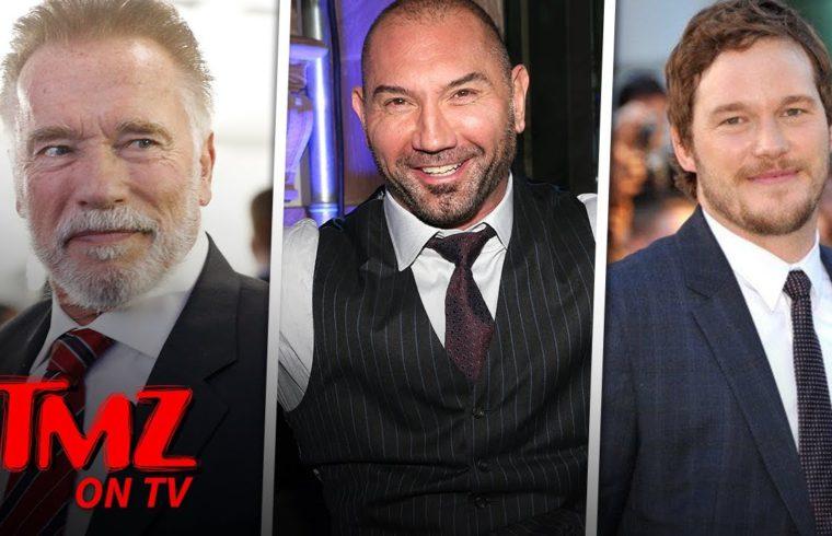 Dave Bautista Says Chris Pratt Doesn't Need Father In Law Advice | TMZ TV 1