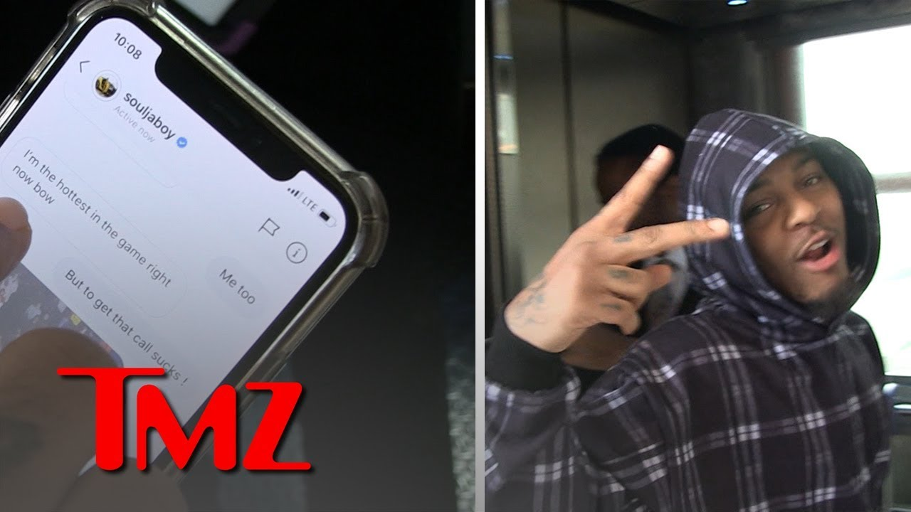 Bow Wow Says Soulja Boy Paved The Way For Current Wave of Rap Artists | TMZ 3
