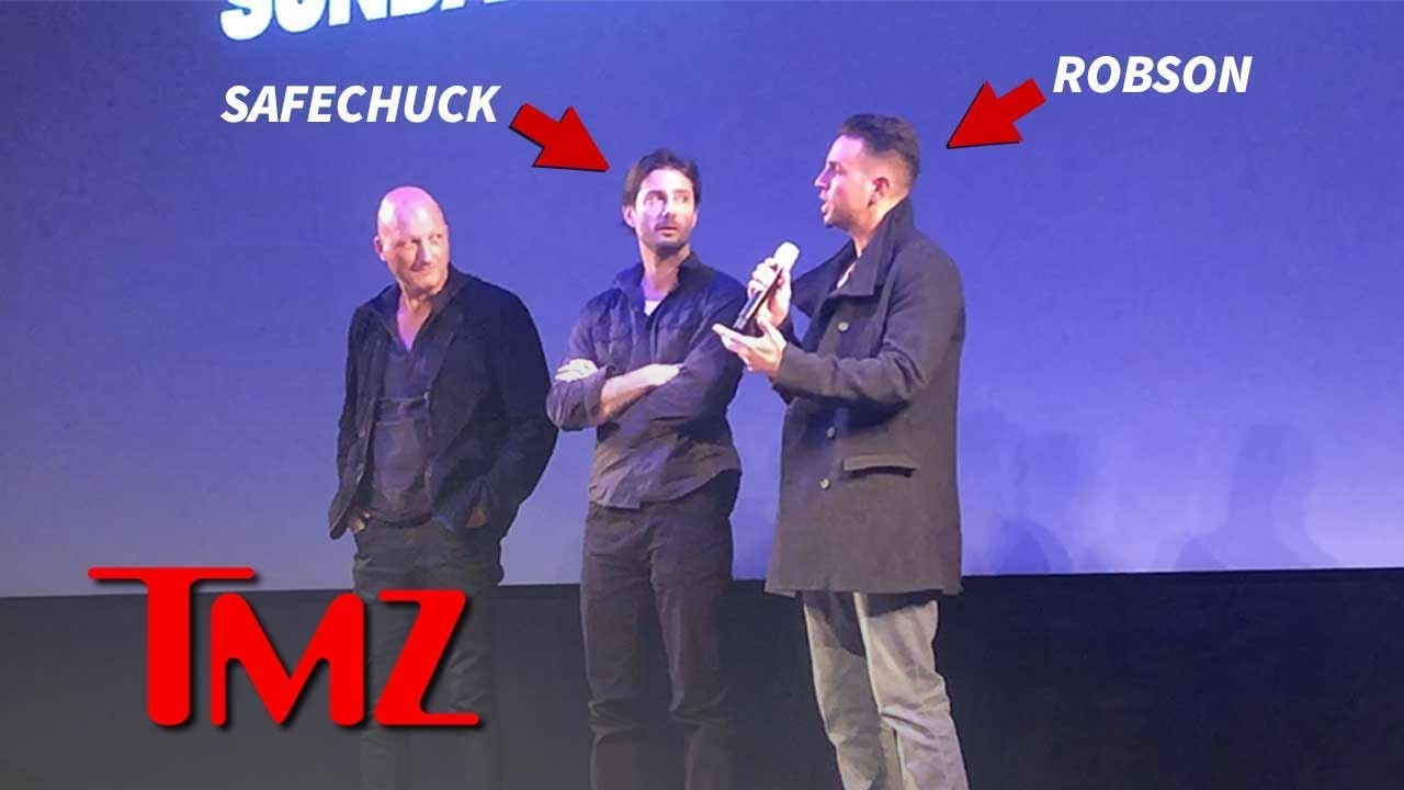 Wade Robson and James Safechuck Arrive at 'Leaving Neverland' Premiere | TMZ 4