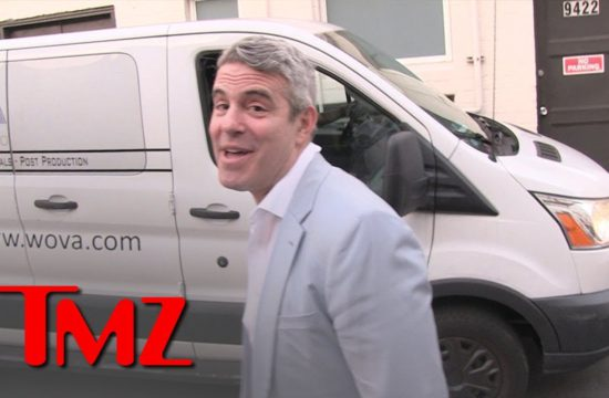Andy Cohen Leaving His Wild Baby Shower | TMZ 5