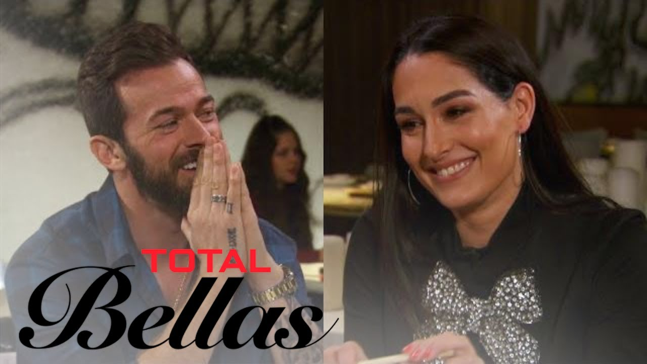 Nikki Bella Flirts With Artem Chigvintsev on Sushi Date | Total Bellas | E! 4