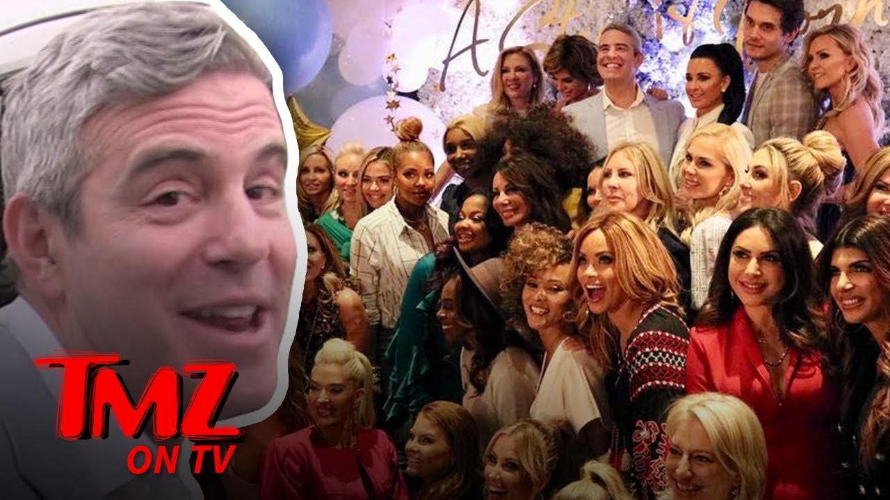 Andy Cohen Hosted A WILD Baby Shower! | TMZ TV 4