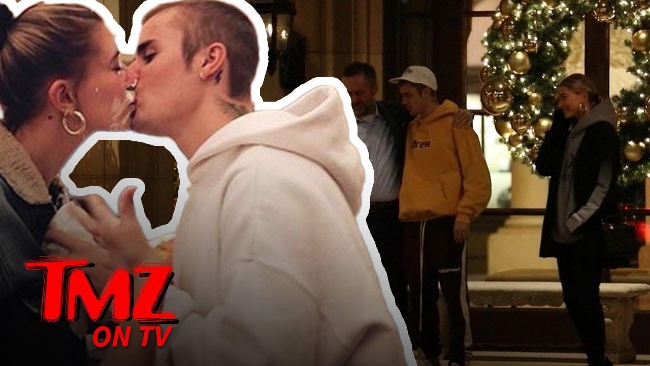 Justin Bieber Serenades Hailey and Random Guy with 'Sexual Healing'   TMZ TV 5