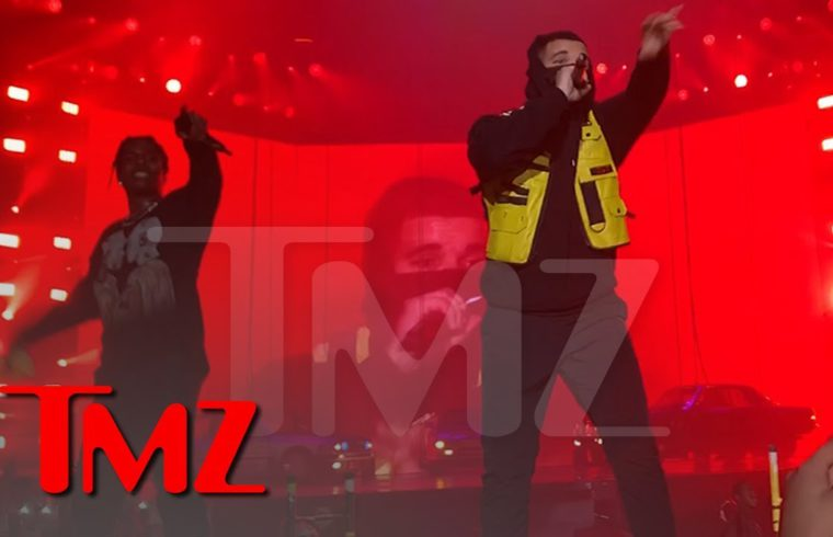 A$AP Rocky Brings Out Drake, Does His Best Travis Scott Impression   TMZ 1