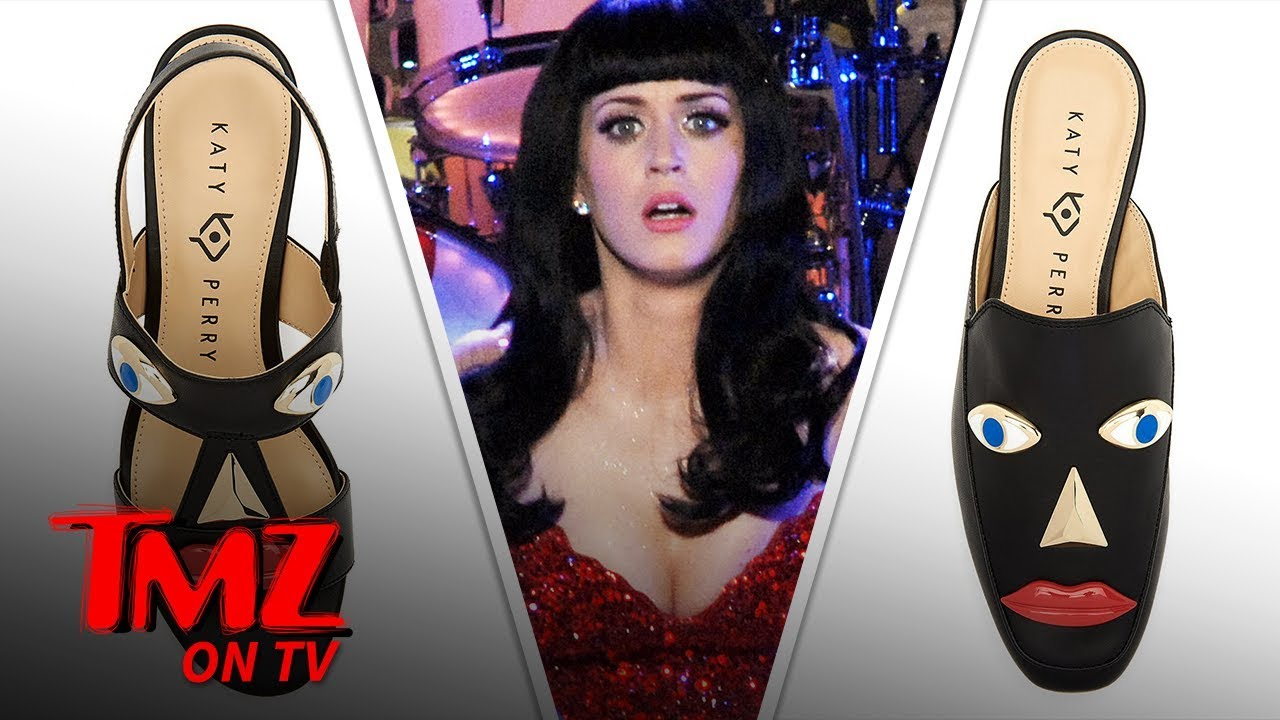 Katy Perry 'Blackface' Shoes Officially Pulled from Shelves | TMZ TV 3