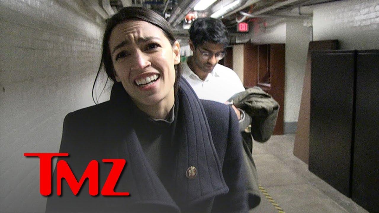 Alexandria Ocasio-Cortez Has No Problem With Sitting President Smoking Weed | TMZ 3