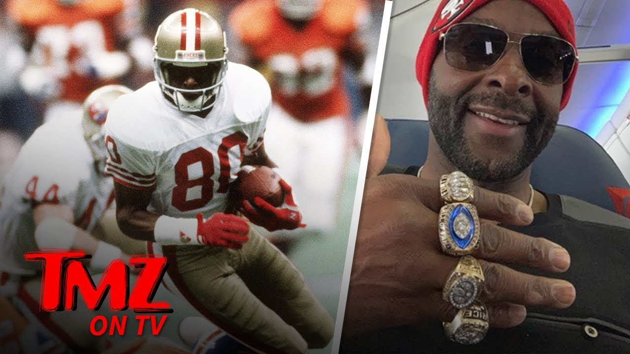 Jerry Rice Likes To Gloat That He's The GOAT | TMZ TV 3