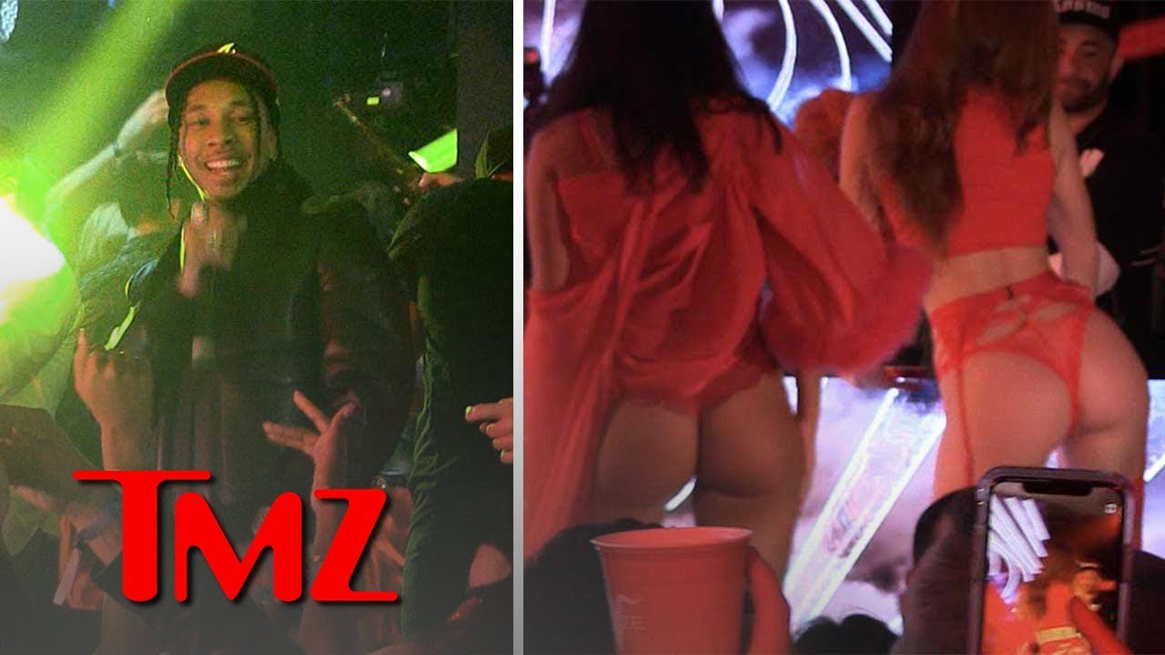 Tyga and Guavo Get Lit at Pre Valentines Day Bash | TMZ 3