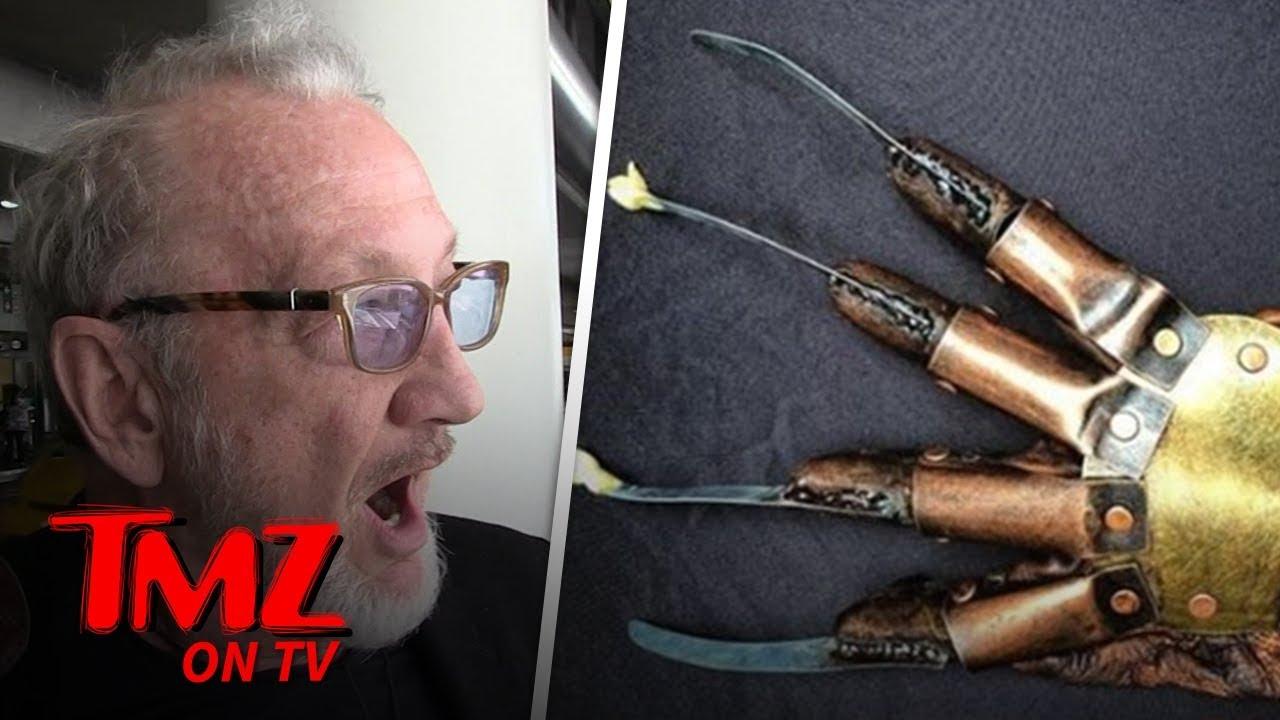 Robert Englund Got Stopped in Canada Because of Freddy Krueger   TMZ TV 5