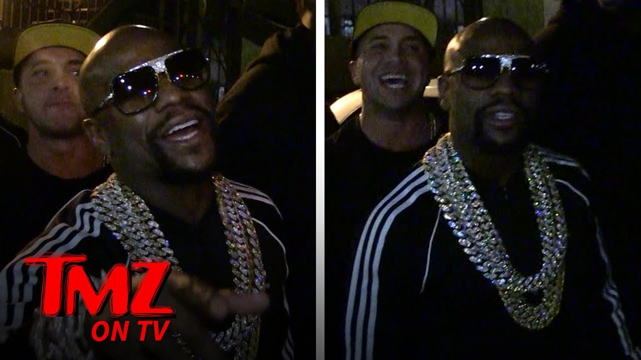 Floyd Mayweather Isn't Too Worried About Tyga After Fight At His Birthday | TMZ TV 4