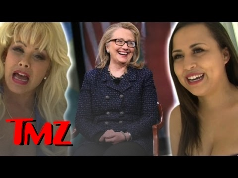 Hillary Clinton – Endorsed By Hookers! | TMZ 1