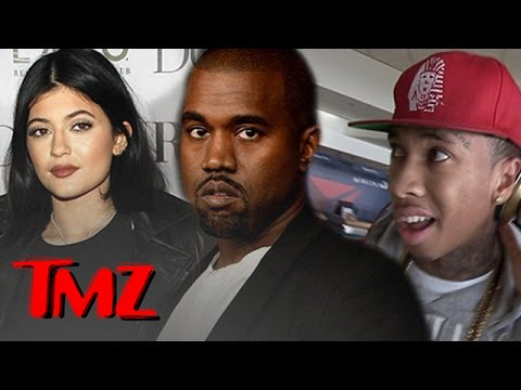 Kanye West DISSES Amber Rose & Says Tyga and Kylie Jenner are 'In Love' | TMZ 1
