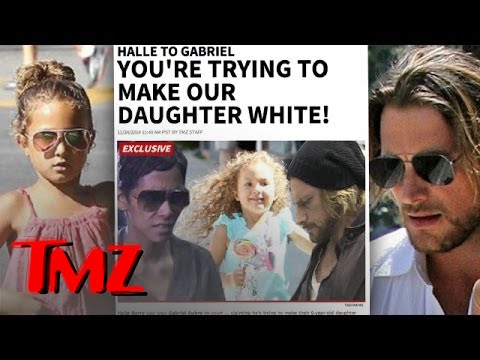 Halle Berry To Baby Daddy- Stop Straightening My Daughter's Hair! | TMZ 5