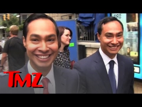 Castro Twins -- Identical... and Kinda Creepy! -- Julian Castro & Joaquin Castro at DNC | TMZ 3