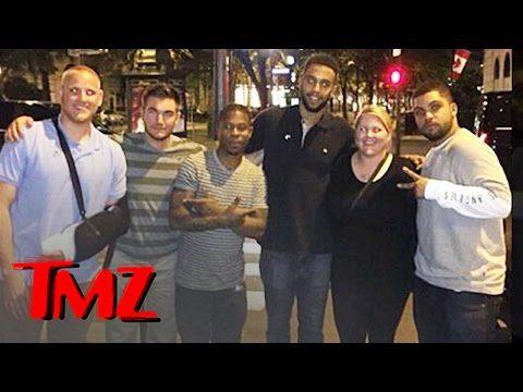 The Train Heroes Get a Taste of Compton in Paris!   TMZ 7
