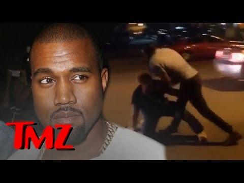Kanye West Fights The Paparazzi?! | TMZ 1