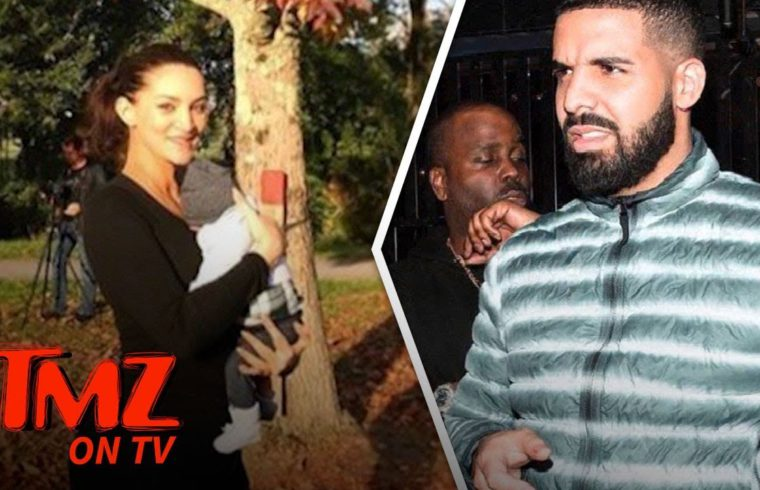 Drake's Maybe Babymama Jets to His Side! | TMZ TV 1