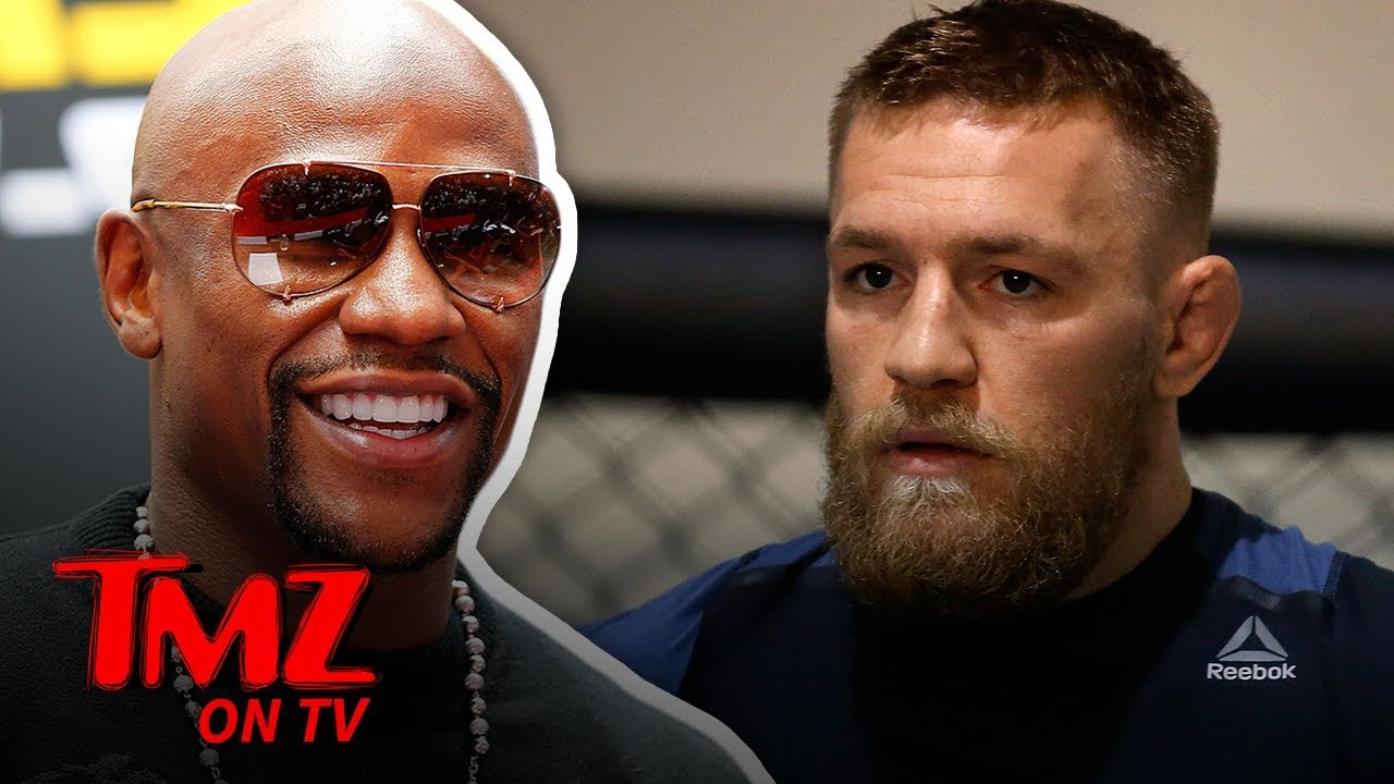 Is A Mayweather Vs. McGregor Rematch In The Works?!   TMZ TV 5
