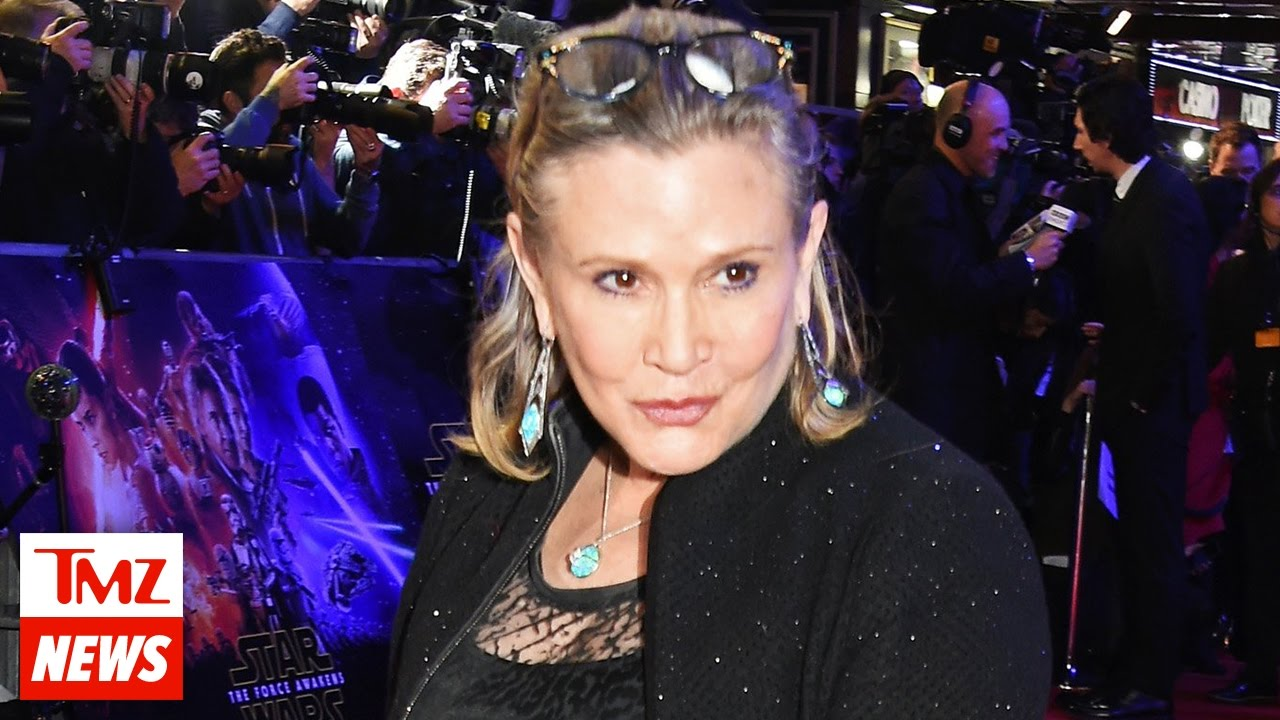 Latest Details On Carrie Fisher's Death | TMZ News 3