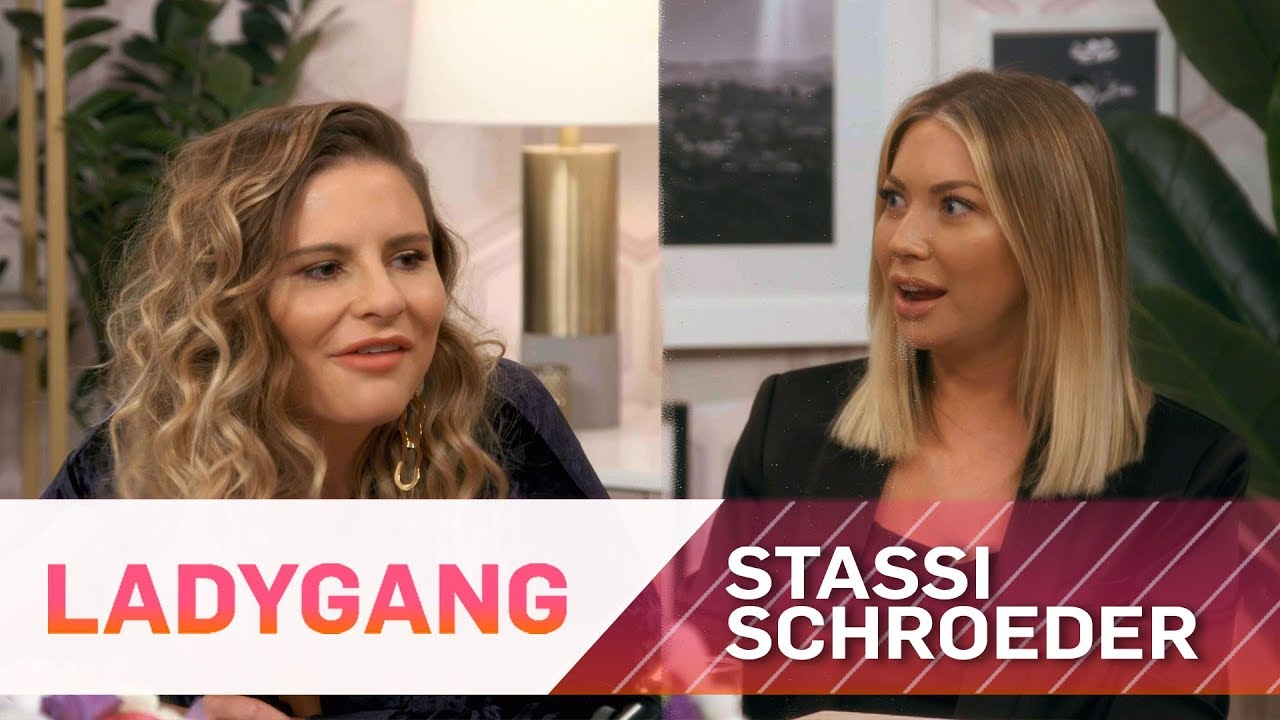 Stassi Schroeder Stunned by Nipple Hairs   LadyGang   E! 3