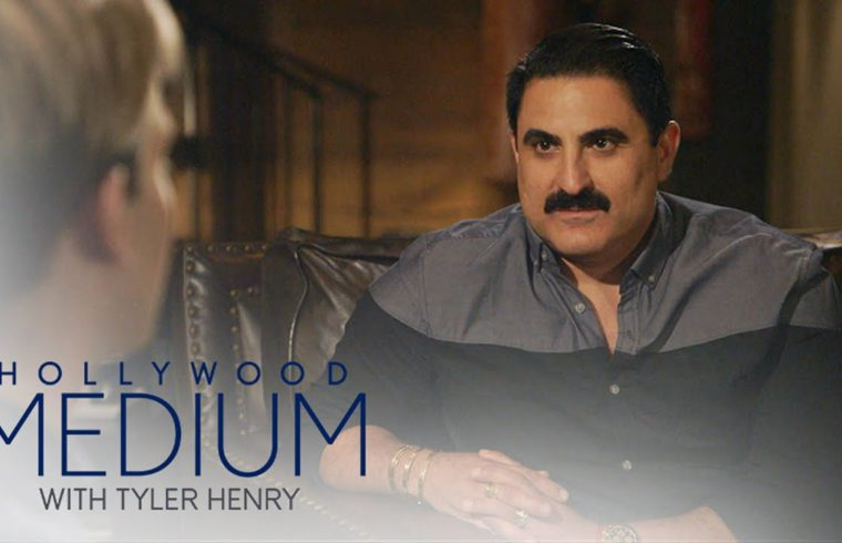 Reza Farahan Connects With Late Uncle Using Obscure Object   Hollywood Medium with Tyler Henry   E! 1