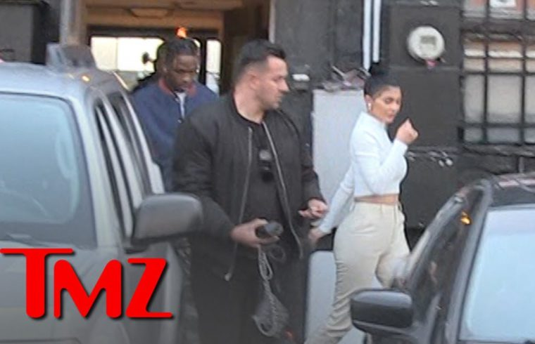 Kylie Jenner and Travis Scott Have Dinner Together with Stormi   TMZ 1