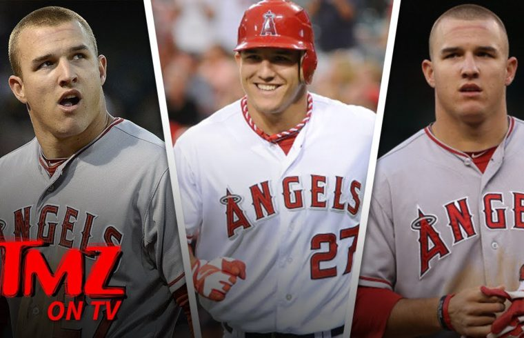 Willie Geist Weighs In On Mike Trout's Record Breaking MLB Contract | TMZ TV 1