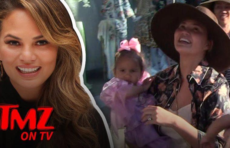 Chrissy Teigen ... Thighs Are My Thing! | TMZ TV 1