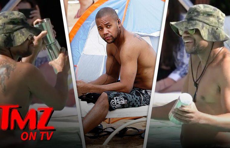 Cuba Gooding Jr. Lets Loose In A Pool In Vegas | TMZ TV 1