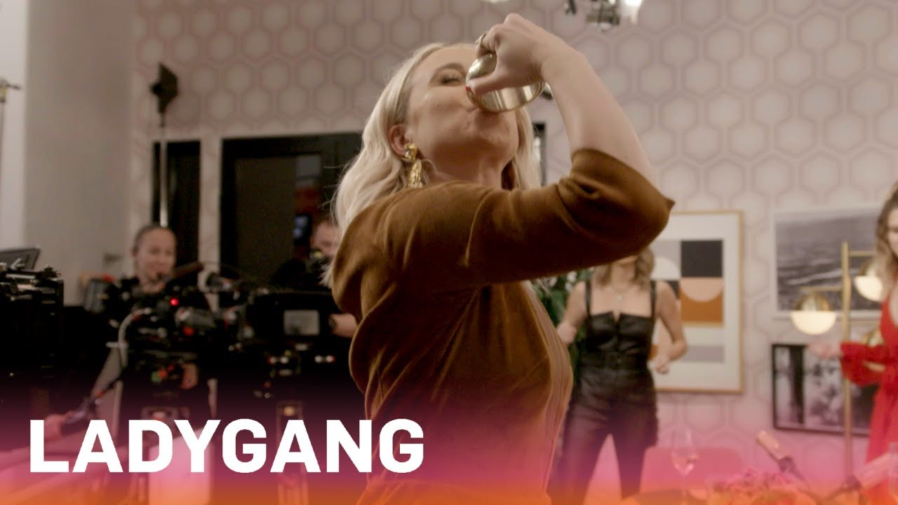 Jac, Becca & Keltie Drink From Their Hair Ties?!   LadyGang   E! 4
