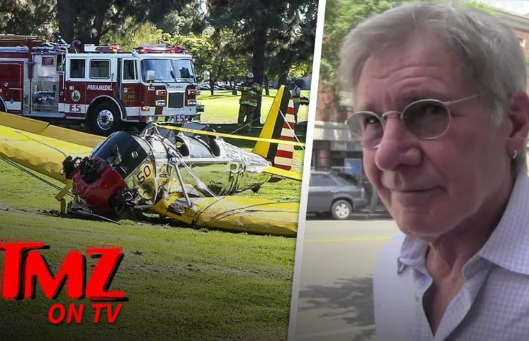 Harrison Ford Doesn't Want To Take About The Boeing 737 Crash | TMZ TV 1