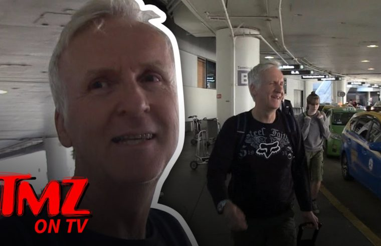 James Cameron: He's The One Getting Directed Now | TMZ TV 1