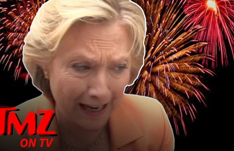 Hillary Clinton Pulls Plug On Election Night Fireworks | TMZ TV 1