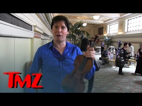 Joshua Bell -- Oh, This Old Thing? It's Just My $15 Million Violin!!! | TMZ 1