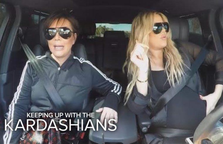 KUWTK | Kris Jenner Criticizes Khloe Kardashian's Driving Habits | E! 1