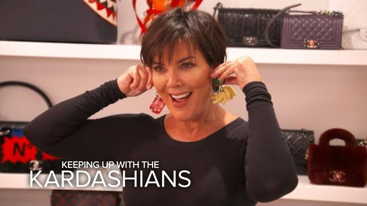 KUWTK   Kris Jenner Is Ready to Show Off Her New Ears!   E! 3