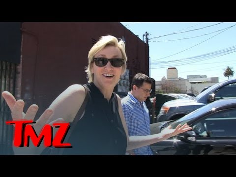 Jane Lynch -- Confirms Naya Rivera Fired From 'Glee' ... Or Doesn't | TMZ 1