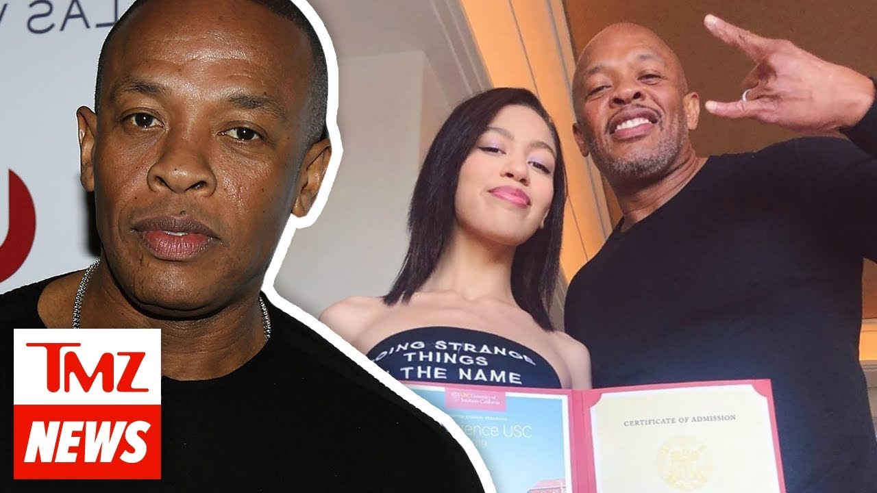 Dr. Dre Deletes Post Gloating Over Daughter's Acceptance to USC | TMZ NEWSROOM TODAY 4