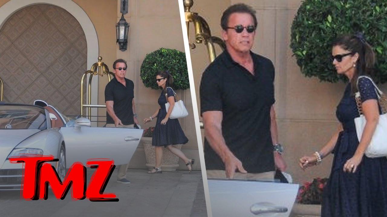 Arnold Schwarzenegger is Out With Maria Shriver | TMZ 3