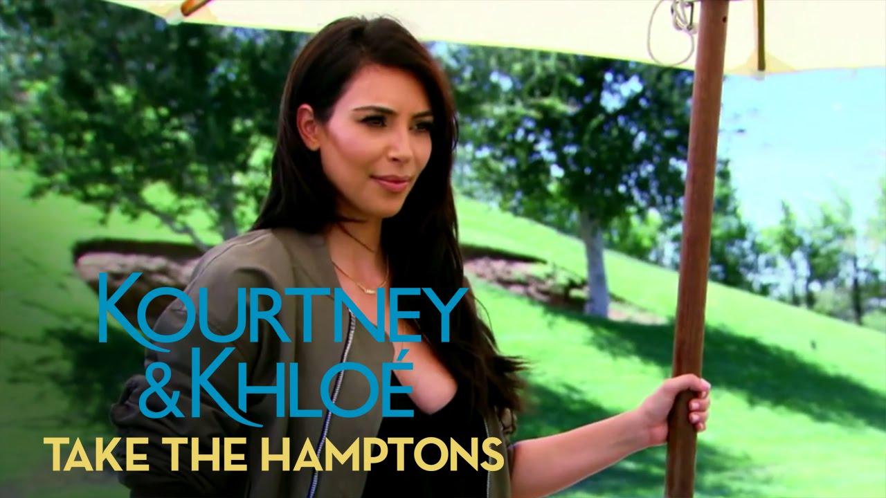 Kourtney Kardashian Is Shutting Down the Party! | Kourtney & Khloé Take the Hamptons | E! 3