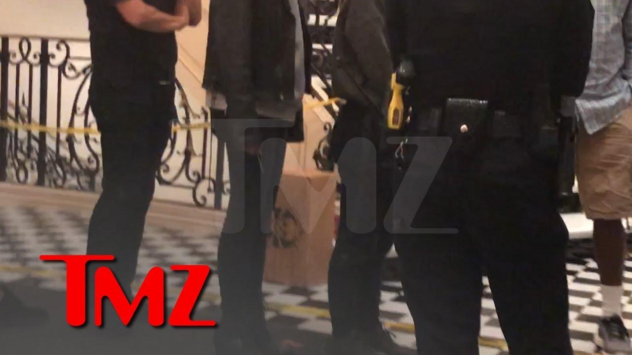 Video From The Scene Of Shooting at Tekashi 6ix9ine Music Video Featuring Nicki Minaj & Kanye West 3