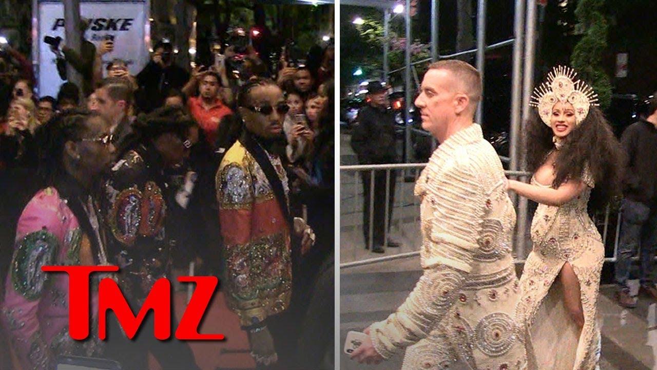 Migos & Cardi B Hours Before Violent Beatdown | TMZ 3