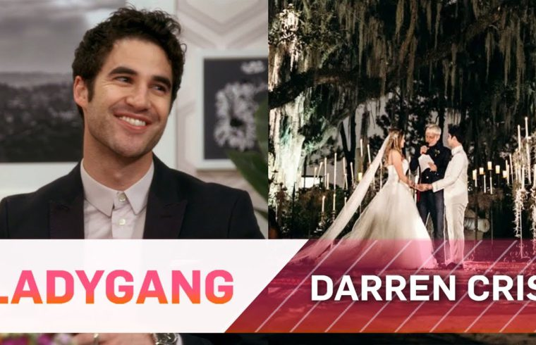Darren Criss Gives Full Details on His Wedding   LadyGang   E! 1