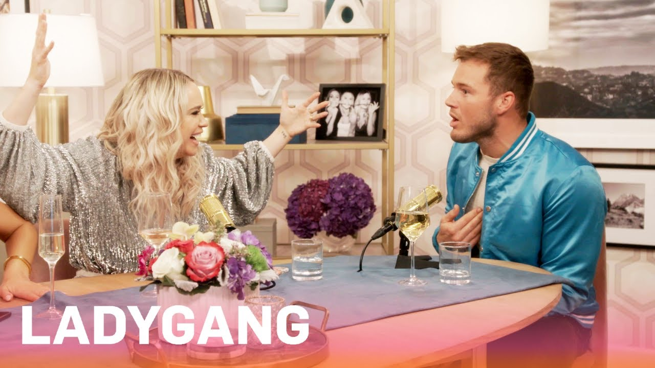 Colton Underwood Gets Slammed For Picking Double Halo Ring | LadyGang | E! 5