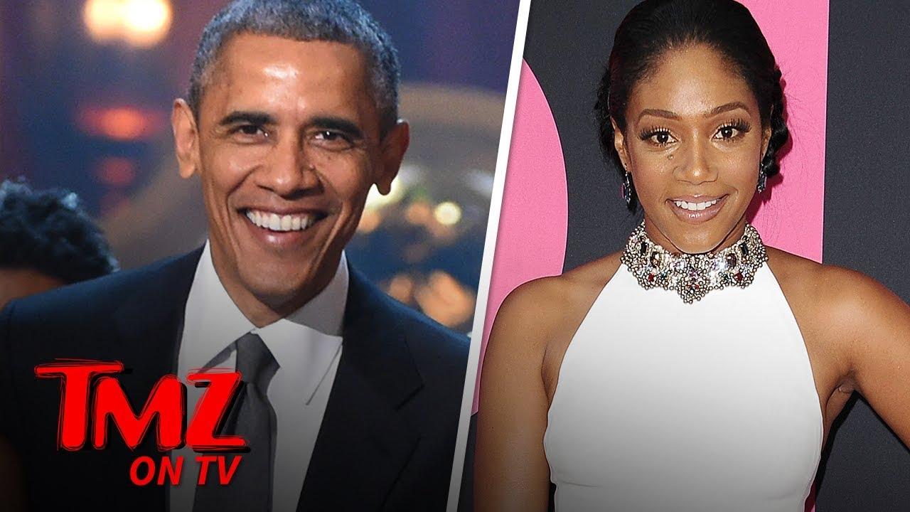 Tiffany Haddish Says Barack Obama Should Do Stand-Up! | TMZ TV 5