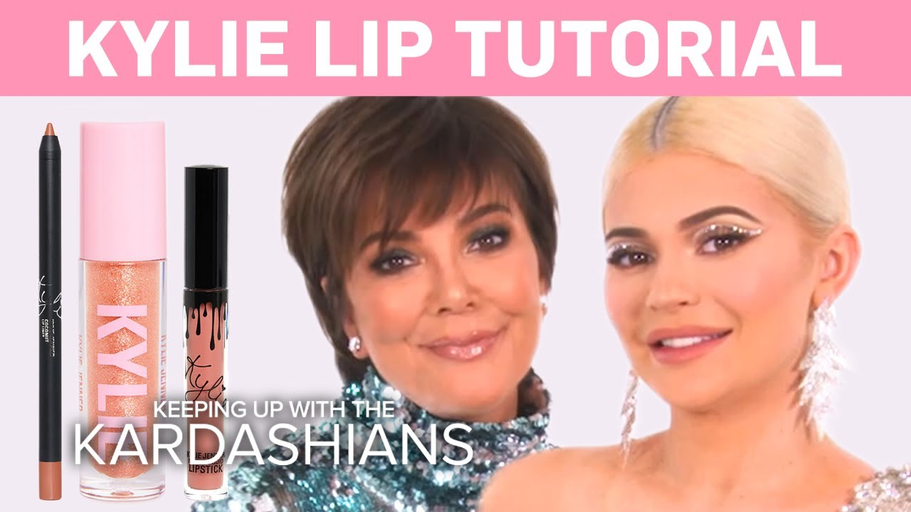 KUWTK   Kylie Jenner Does a Makeup Tutorial on Kris!   E! 5