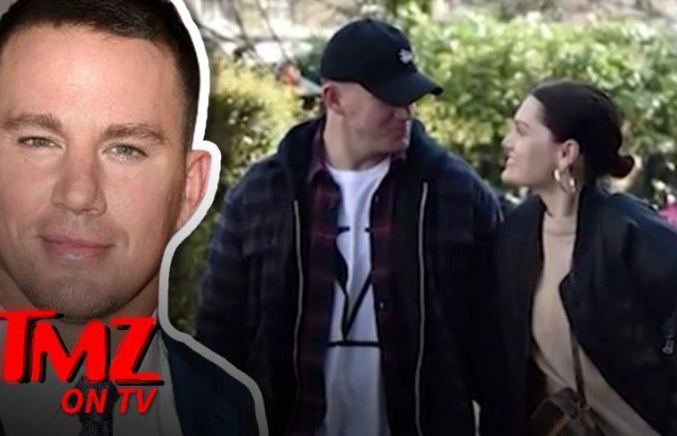 Channing Tatum Strolling Hand-in-Hand with Jessie J in London   TMZ TV 1
