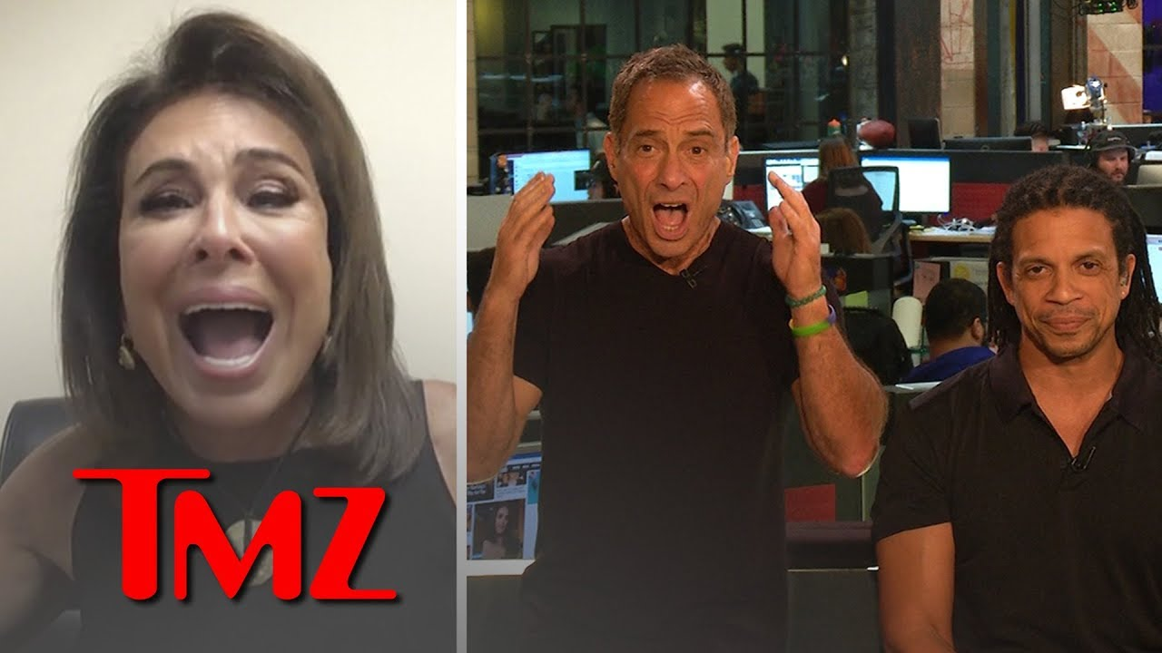 Judge Jeanine Pirro Spars With Harvey & Charles Over President Trump's Words | TMZ 3